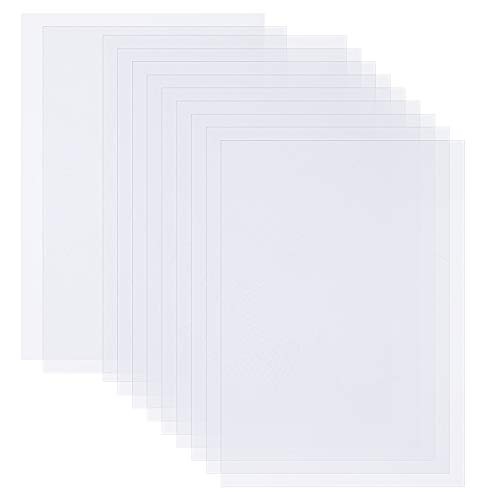 Ruisita 100 Sheets Vellum Paper White Translucent Tracing Paper Sketching Paper 8.5 x 11 Inches for Sketching Printing Tracing Comic Drawing Animation (100)