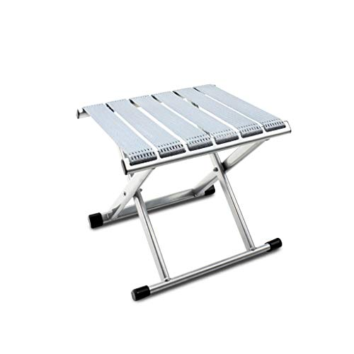 CAO-LIFE Mini-Tabouret Pliant Portatif, Chaise en Nylon Pliable, Style Simple, Camping Solide, Tabouret Osman, Étui De Transport, Pêche en Montagne, Plein Air