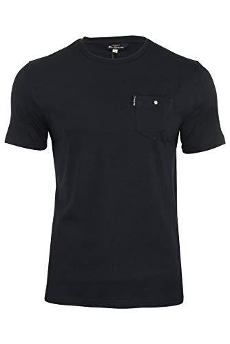 Ben Sherman - Camiseta clásica con bolsillo para hombre