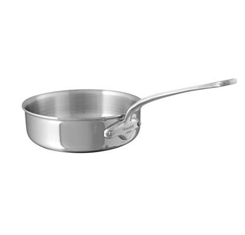 Mauviel1830 - M'Cook 521124 - Plat à sauter inox - 24 cm