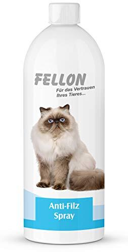 Fellon Anti Filz 1000 ml für Katzen | Entfilzungsmittel | Entfilzungsspray | Entfilzung für Katzen | Fellentfilzung