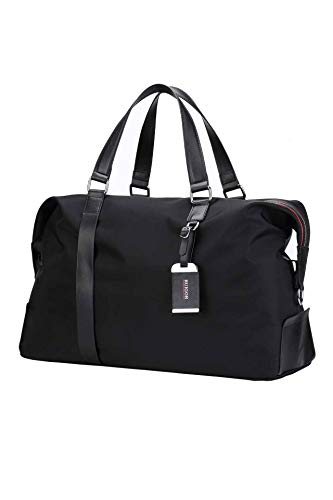Ruigor Swiss Luxus-Reisetaschen mit mehreren Fächern, wasserabweisend, hohe Qualität, Executive 10, Schwarz