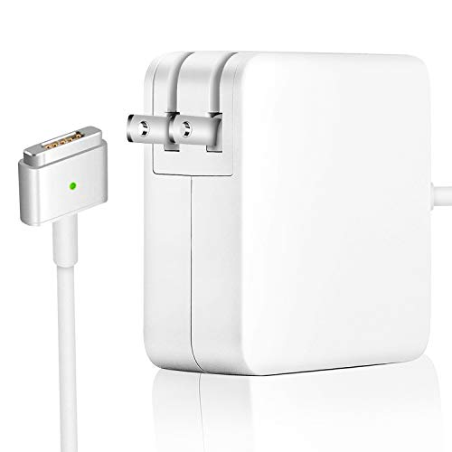 MacBook Pro Charger, AC 60W Power Adapter Magsafe 2 Charger T-Tip Connector, Compatible with Mac Book Pro Retina 13 Inch and Mac Book Air [After Late 2012]