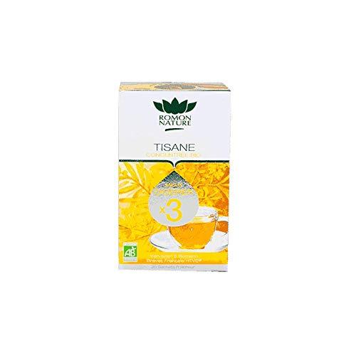 Romon Nature- Té de hierbas concentrado Bio Mejor digestión. 2 cajas de 20 sobres
