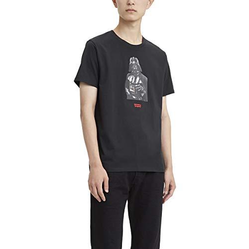 Levi's Star Wars X Graphic tee Camiseta para Hombre, Color Vader Black, M