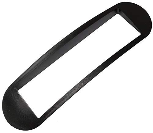 AERZETIX: Mascherina telaio adattatore 1DIN copertura in plastica stampata per il cambio sostituzione dell'autoradio originale con un radio standard per veicoli automobile