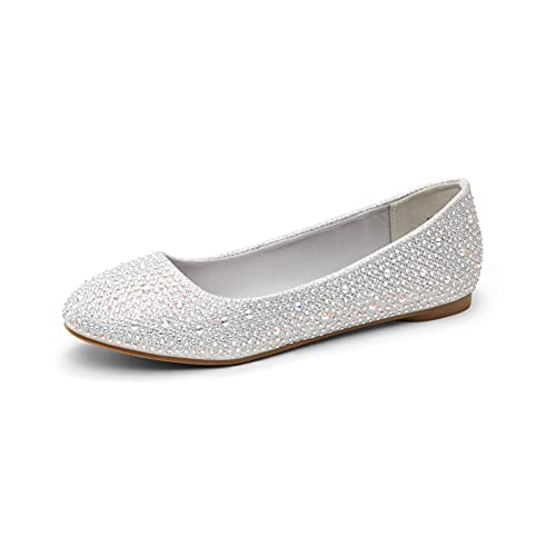 Top 10 best selling list for nice shiny silver flat peep toe shoes