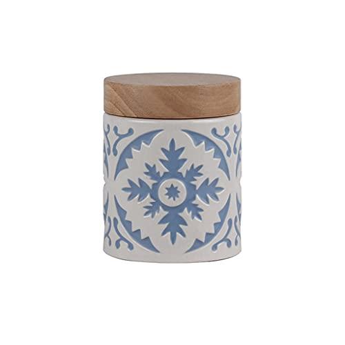 ZANZAN Vorratsdose aus Keramik mit...
