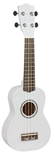 Aloha 7M16B - Ukelele soprano, color Blanco