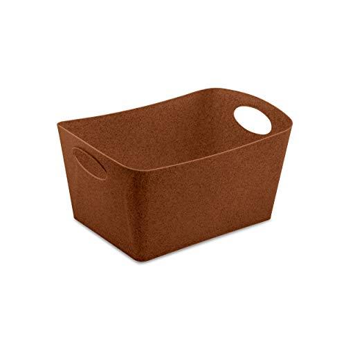 Koziol Aufbewahrungsbox Boxxx M, Box, Kiste, Korb, Aufbewahrung, Thermoplastischer Kunststoff, Organic Rusty Steel, 3.5 L, 5744674