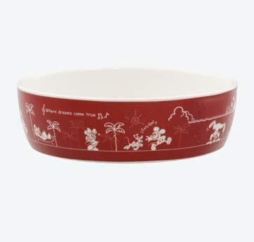 ディズニー ボウル パークフード ミッキー(ミッキーマウス) プレート お皿 食器 陶器 カレー・グラタン皿 ライスボウル 直径16�p 東京 ディズニーリゾート TDR