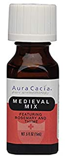 Aura Cacia, Medieval Mix With Rosemary Thyme, 0.5 Fl Oz