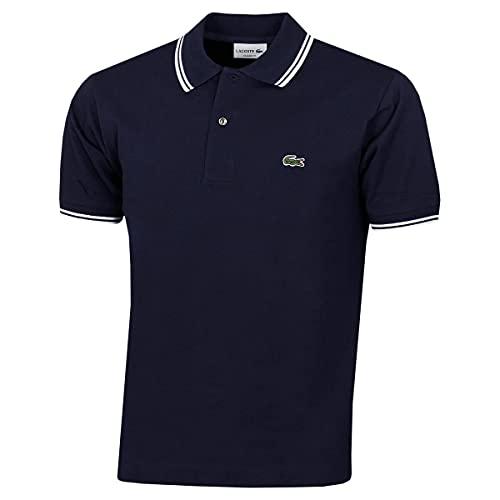 Lacoste PH2384 Camisa de Polo, Marine/Blanc, 3XL para Hombre