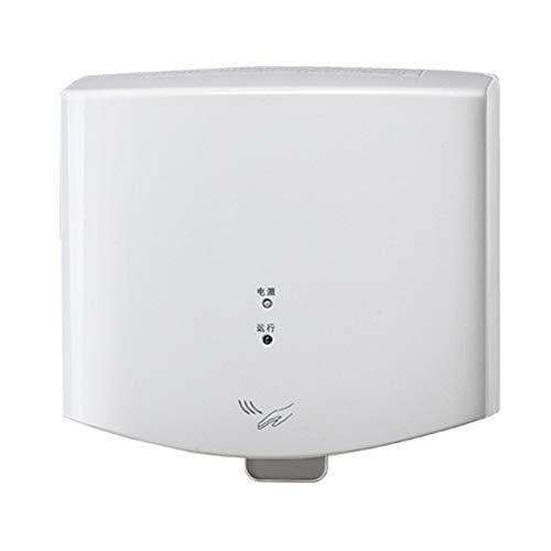 REGEN Secador de Manos Automático 1400W,Secador de Manos Eléctrico, Dispositivo de Secado de Manos para el hogar,Baño,Secador de Aire Caliente