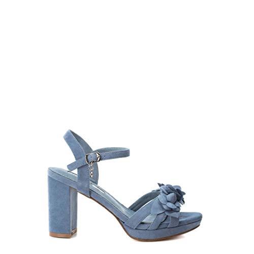 XTI Sandalia 35044 Mujer color: Azul talla: EU 39