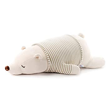 Niuniu Daddy 11.5 inch Super Soft Plush Polar Bear Stuffed Animal Toy Plush Pillow for Kids
