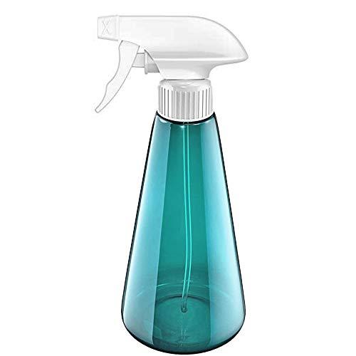 Botellas de spray 500 ml, botella de spray vacía de plástico PET Spray Pulverizador para cabello Plantas atomizador de agua de atomizador de niebla fina recargable para limpieza de cocina jard