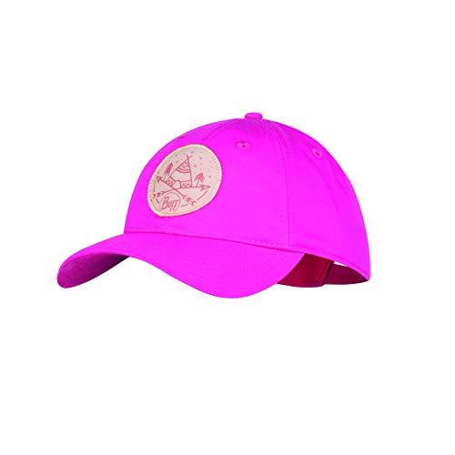 Buff Mädchen Solid Baseball Cap, Fuchsia, One Size