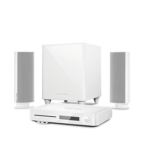 Harman Kardon BDS 485S Heimkino-System (2.1 Kanal, 330 Watt, 4K Blu-Ray Disc-System) weiß