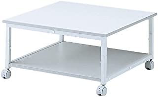 サンワサプライ アウトレット プリンタスタンド 2段 高さ35cm レーザープリンタ対応 プリンタ台 テーブル 設置 キャスター付き LPS-T105N 箱にキズ、汚れのあるアウトレット品です。