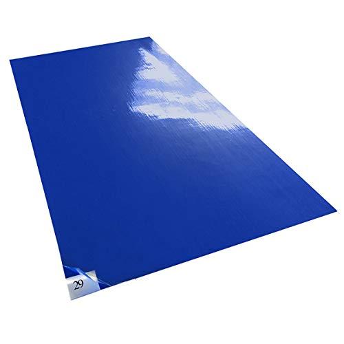 Purus PS 2436 38 B Blue 30 Layer Purus Mat Case of 8 Pads, 30 Layers per Pad 36 Length x 26 Width