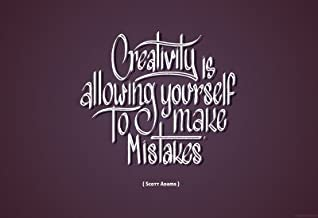 Creativity Is Allowing Yourself to Make Mistakes - Scott Adams Paper Print(13 inch X 19 inch, Rolled)