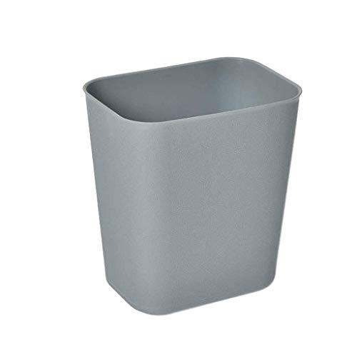 SXXYTCWL Basura de plástico Retardante de Llama, Papel de Basura sin Cubierta Papel de plástico Cocina Dormitorio Dormitorio Sala de Estar Home Office Hotel (Color: Grey) jianyou (Color : Gray)