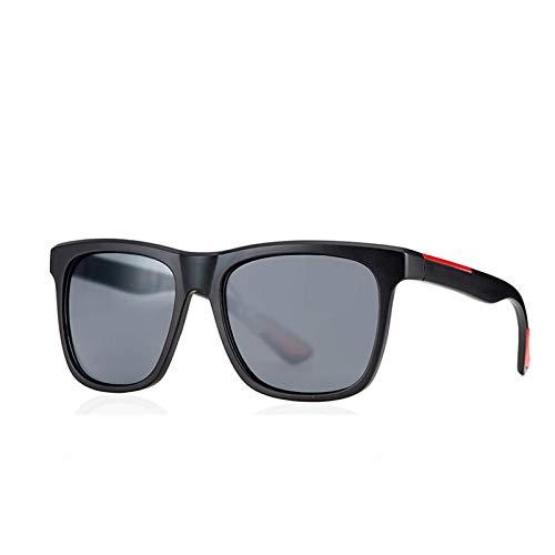 Gafas de Sol Sunglasses Gafas De Sol Cuadradas Vintage para Hombre, Gafas De Sol De Conducción con Espejo De Gran Tamaño, Gafas Retro Uv400 C2Anti-UV
