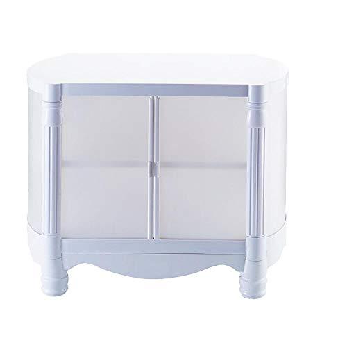Étagère Peaceip Combinaison Libre De Cabinet De Stockage en Plastique De Meuble De Rangement en Plastique Simple De Casier D'Assemblée D'ABS Multifonctionnel (Couleur : 1-Tier)