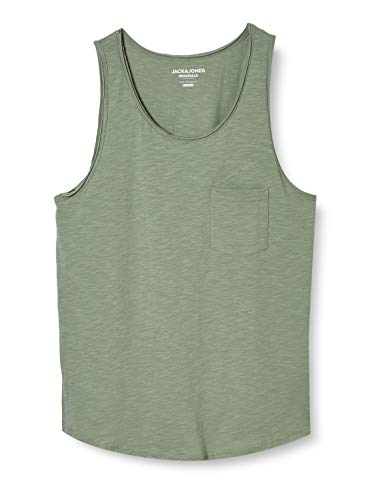 JACK & JONES Herren JORWALLET Tank TOP STS  Normal Tanktop,  Green Bay,  XL