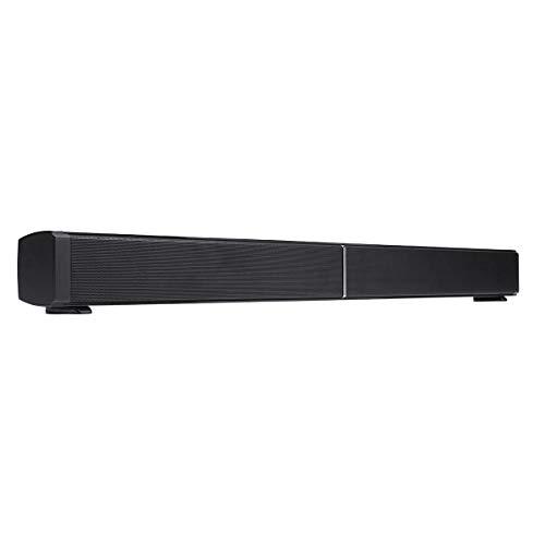 Raitron Soundbar LP-09 40W Home Bluetooth 4.0 Clase D Audio Altavoz Echo-Wall Montado en la pared TV barra de sonido