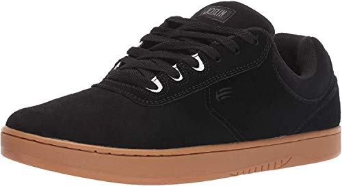 Etnies Men's Joslin Skate Shoe, Black/Gum, 4 Medium US