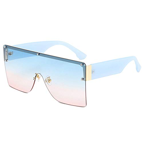 Gosunfly Gafas de sol retro Gafas de sol Gafas de sol Nuevas gafas de sol-Azul / película azul