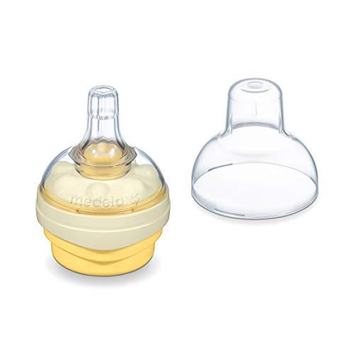 Tetina para biberón Medela Calma sin BPA - Un tamaño y una forma que se adaptan a todos, diseñada para favorecer el comportamiento natural de succión del bebé