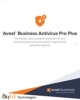 AVAST BUSINESS ANTIVIRUS PRO Plus Download link Activation Key via Email within 24 Hrs via Amazon product image