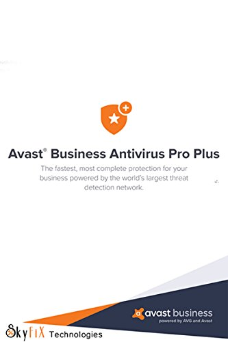 AVAST BUSINESS ANTIVIRUS PRO Plus (Download link & Activation Key via Email within 24 Hrs via Amazon Email)