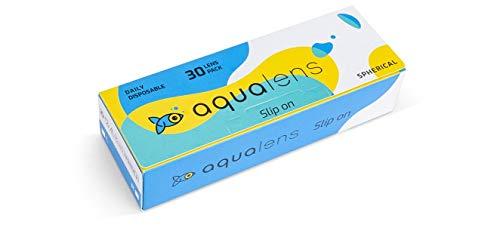 AQUALENS CONTACT LENSES Daily Disposable Contact Lenses (30 Lenses/Box, -2.50)