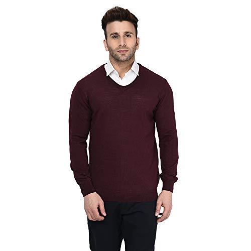 Armisto Men's Merino Wool V-Neck Sweater