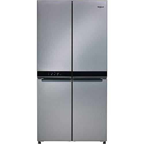 Réfrigérateur américain Whirlpool WQ9E1L - Réfrigérateur 4 portes - 591 litres - Réfrigerateur/congel : No Frost / No Frost - Dégivrage automatique - Inox - Classe A+ / Pose libre