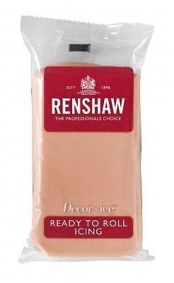 Renshaws 250g Cake Decorating Frosting - Ready to Roll Fondant
