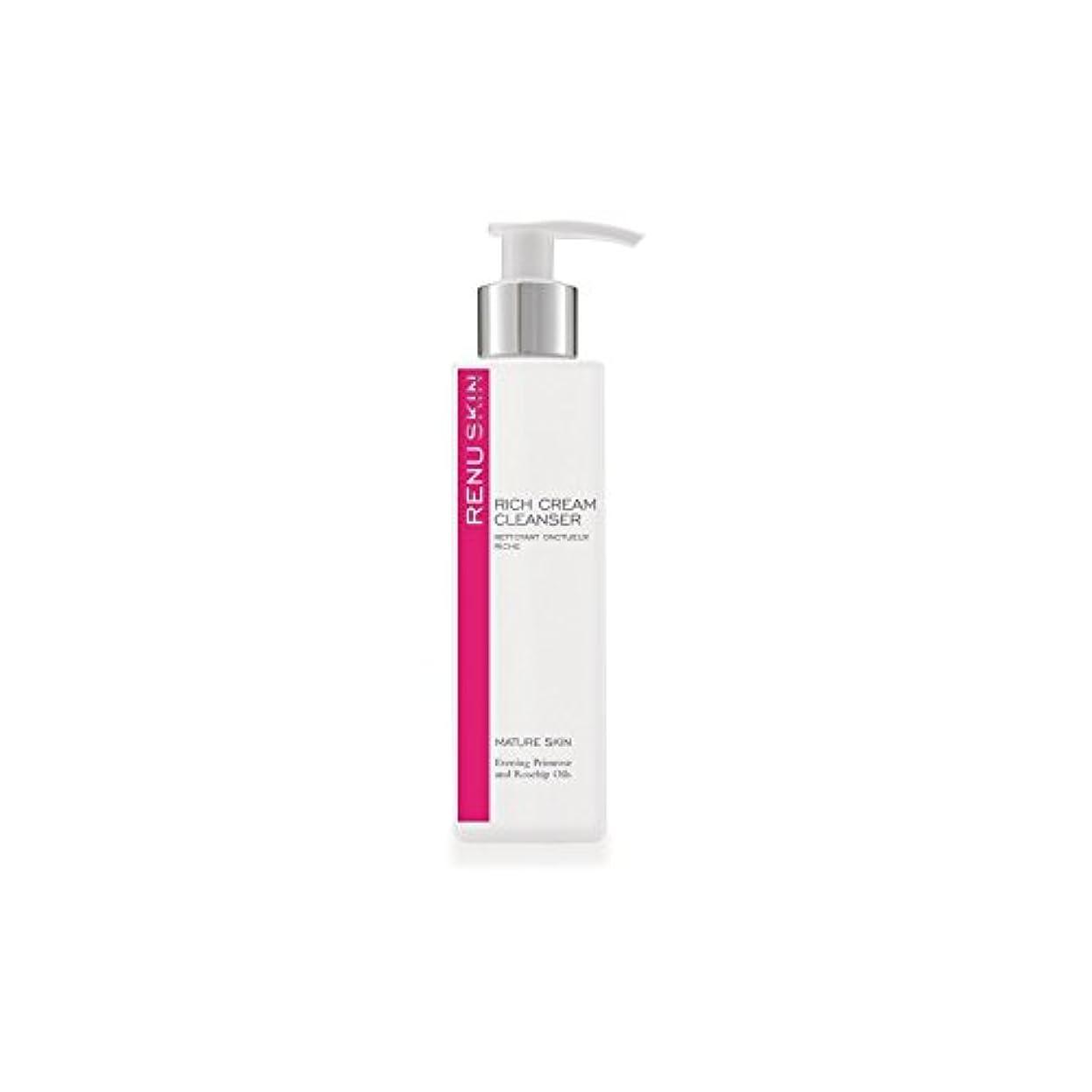 白い窒素受粉者Renu Rich Cream Cleanser 180ml (Pack of 6) - 豊かなクリームクレンザー180ミリリットルをレーヌ x6 [並行輸入品]