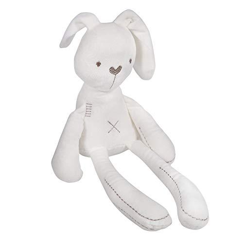 Hztyyier Peluche Coniglio Giocattolo, Coniglietto per Il Sonno con Ripieno Morbido Giocattolo di Bambole di Peluche per Bambini Regalo