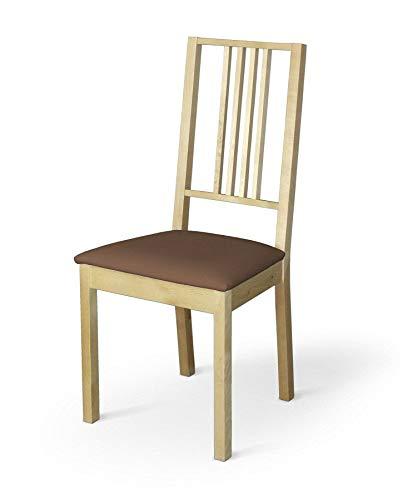 Dekoria Börje Sitzbezug Stuhlbezug Stuhlkissen passend für IKEA Modell Börjel braun