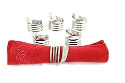 fork artwork ~ napkin rings