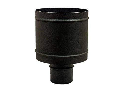 Terminal sombrero antiviento de barril diámetro 80 humero 4 vientos estufa de pellets chimenea cocina barbacoa chimenea