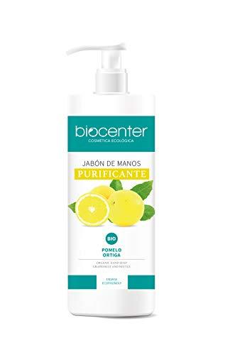 Biocenter Botanical - Jabón de Manos ecológico Purificante - Envase Ecofriendly 500 ml