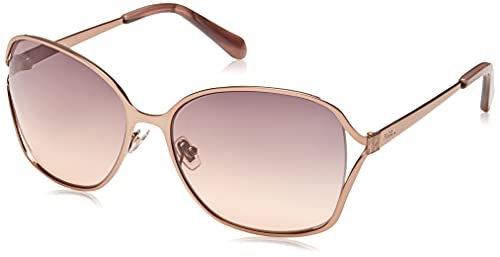 Fossil FOS 2093/G/S Sunglasses, Brown, 59 Womens
