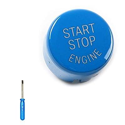 Arotom Car Engine Start Stop Switch Button Replace Cover For BMW E60 E70 E71 E90 E92