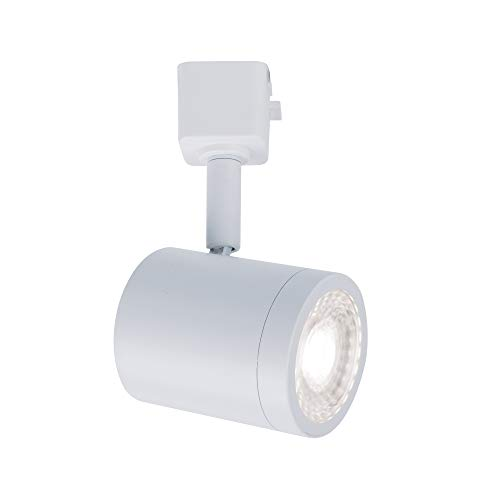 WAC Lighting H-8010-30-WT Charge Head LED Track Fixture, Pack of 1, White
