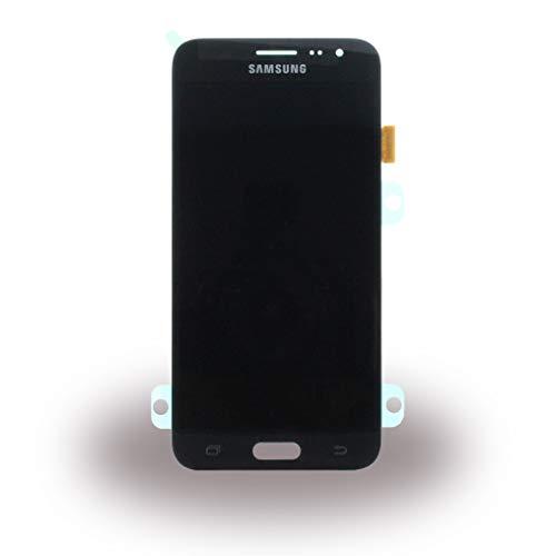 Display Full LCD Komplettset Touchscreen Glas Scheibe Ersatzteil Zubehör Reparatur Schwarz für Samsung Galaxy J3 J320F 2016 + Werkzeug Opening Tool Modellnummer: GH97-18414C